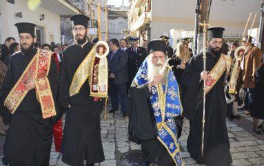 Η εορτή του Αγίου Σπυρίδωνος στην Ιερά Πόλη του Μεσολογγίου