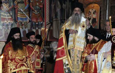 Πανηγυρικός Εσπερινός στην Ιερά Μονή Αγίου Στεφάνου Μετεώρων