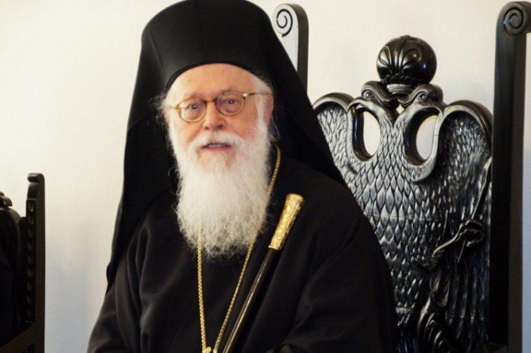 Ο Αρχιεπίσκοπος Αναστάσιος συλλυπήθηκε τις οικογένειες Κατσίφα και Ζίλφα