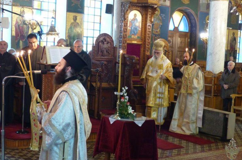 Η εορτή της Συλλήψεως της Αγίας Άννης στην Ι. Μ. Καστορίας