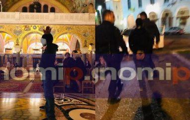 Πάτρα: Αλλοδαπός με μαχαίρια εισέβαλε στον Ι. Ναό Αγίου Ανδρέα