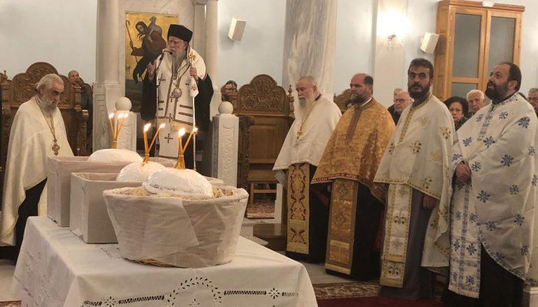 Ο εορτασμός του Αγίου Νικολάου στην Ι. Μητρόπολη Ηλείας