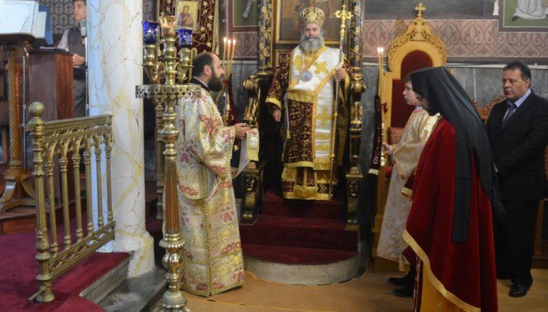 Η εορτή των Χριστουγέννων στην Ιερά Μητρόπολη Μάνης
