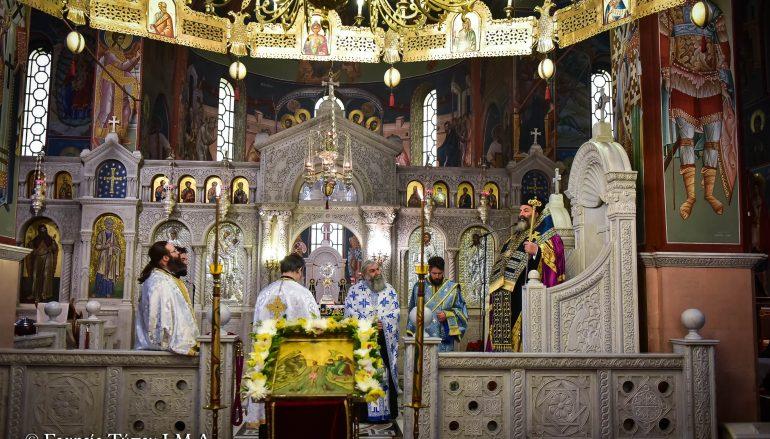 Η Ακολουθία των Μεγάλων Ωρών των Θεοφανείων στην Ι. Μ. Λαγκαδά