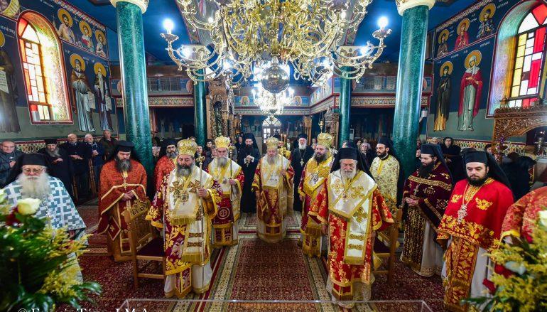 Πολυαρχιερατικό Συλλείτουργο για την εορτή της Αγίας Κυράννης Οσσαίας