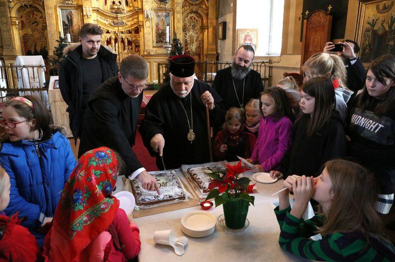 Κοπή Βασιλόπιτας στην Εκκλησία της Εσθονίας