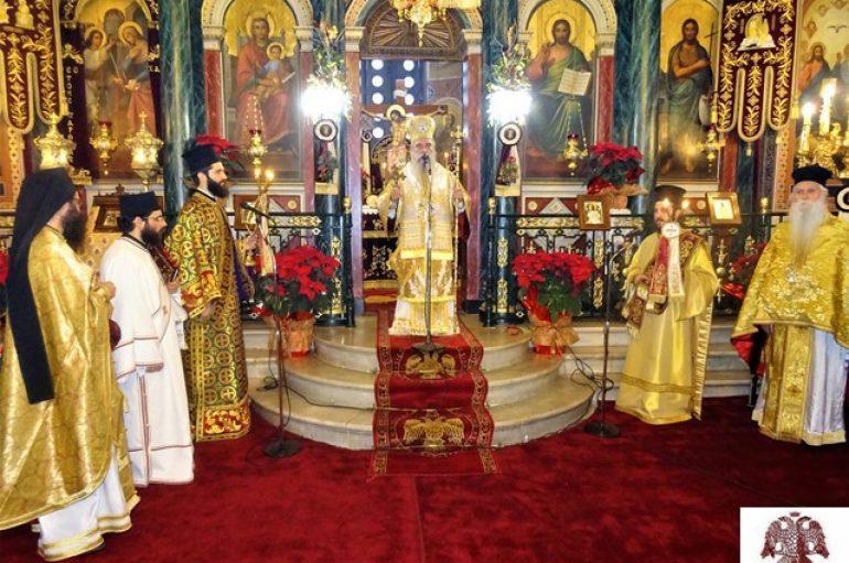 Δοξολογία στον Μητροπολιτικό Ναό Ευαγγελιστρίας Σπάρτης