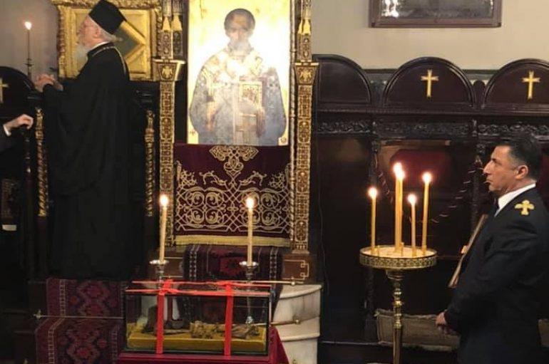 Η εορτή του Αγίου Ιωάννου του Χρυσοστόμου στο Φανάρι