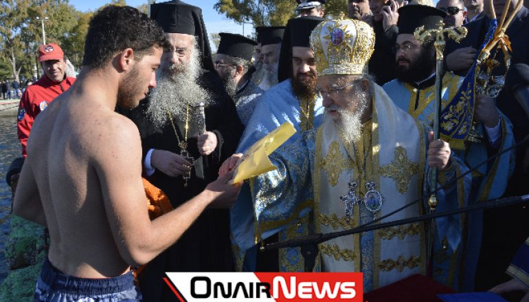 Λαμπρός ο εορτασμός των Θεοφανείων στο Μεσολόγγι