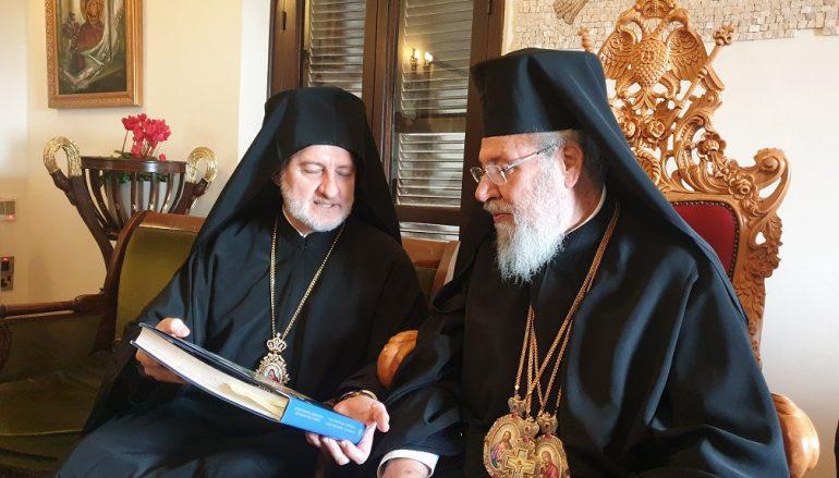 """Κύπρου Χρυσόστομος: """"Το Οικ. Πατριαρχείο είναι Μητέρα Εκκλησία"""""""