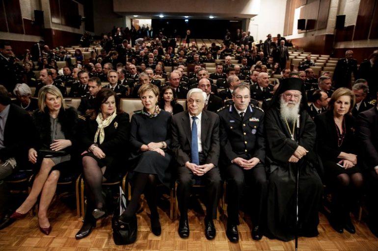 ΠτΔ και Αρχιεπίσκοπος στην εκδήλωση για τους εθελοντές Πυροσβέστες