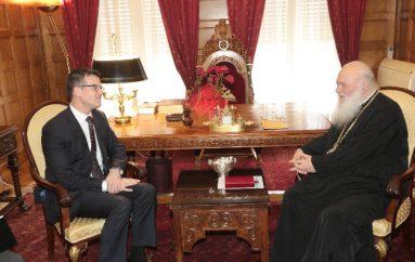 Επίσκεψη του Πρέσβη του Καναδά στον Αρχιεπίσκοπο