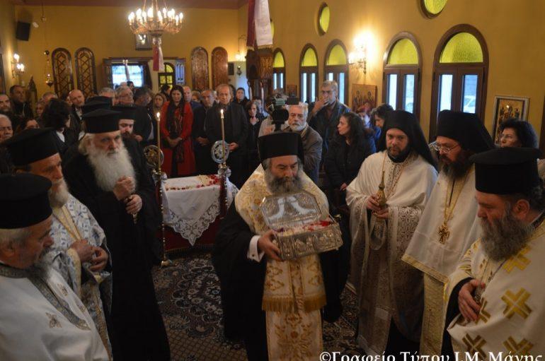 Το Γύθειο υποδέχθηκε Λείψανο του Αγίου Λουκά του Ιατρού