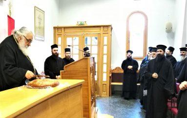 Ιερατική Σύναξη στην Ι. Μητρόπολη Εδέσσης