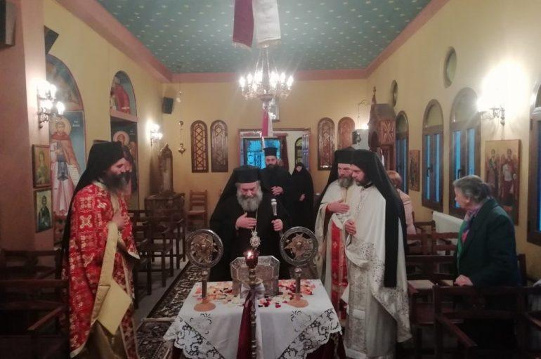 Θεία Λειτουργία και προσκύνηση του Λειψάνου του Αγ. Λουκά του Ιατρού στο Γύθειο