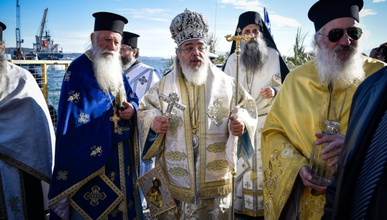 Λαμπρά εορτάσθηκαν τα Θεοφάνεια στην Πρέβεζα