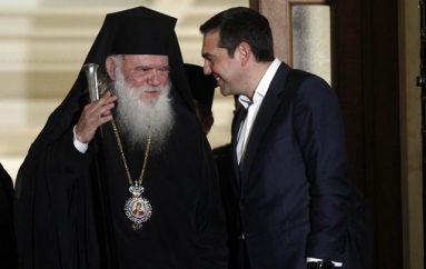 Ουδέποτε ο Αρχιεπίσκοπος συνεχάρη τον Πρωθυπουργό για τη Συμφωνία των Πρεσπών