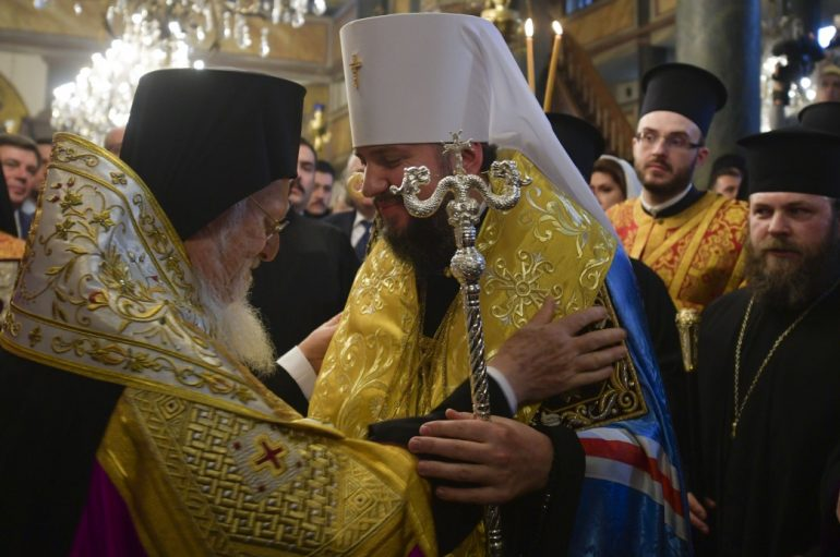 Υπεγράφη ο Τόμος Αυτοκεφαλίας της Ουκρανικής Εκκλησίας