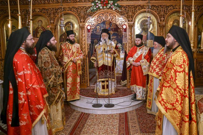 Μνημόσυνο για τον μακαριστό Αρχιεπίσκοπο Χριστόδουλο στην Βέροια
