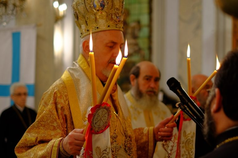 Ο Γαλλίας Εμμανουήλ στα αποκαλυπτήρια του πιστοποιητικού βαπτίσεως του Παύλου Μελά