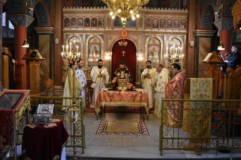 Η εορτή του Αγίου Γρηγορίου στην Ι. Μ. Μαρωνείας