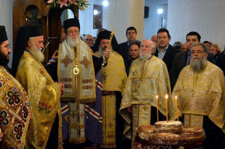 Αρχιερατικός Εσπερινός για την εορτή του Αγίου Τρύφωνος στην Τρίπολη
