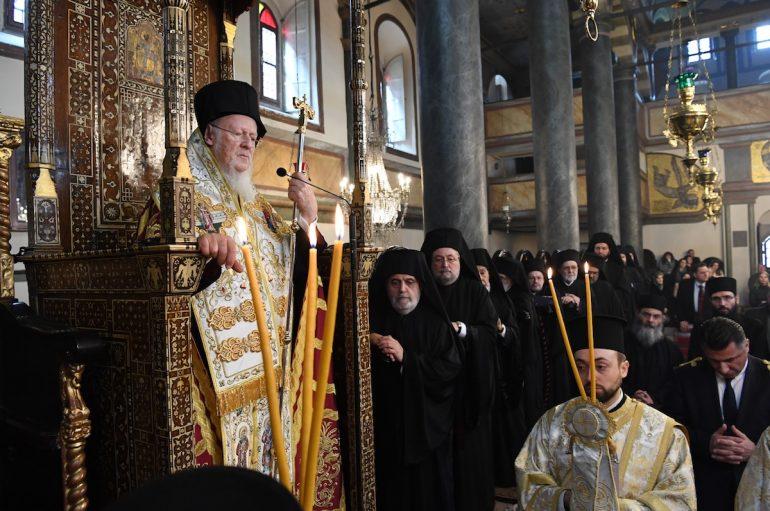 Η εορτή των Τριών Ιεραρχών στο Οικ. Πατριαρχείο