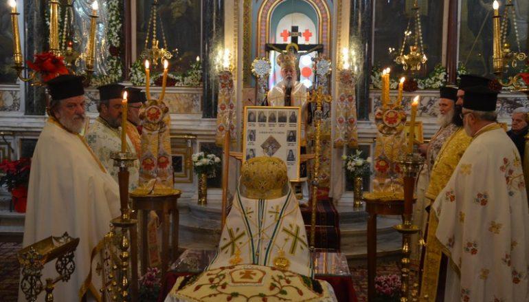 Ο Μητροπολίτης Μαντινείας τέλεσε Μνημόσυνο στους προκατόχους του Αρχιερείς