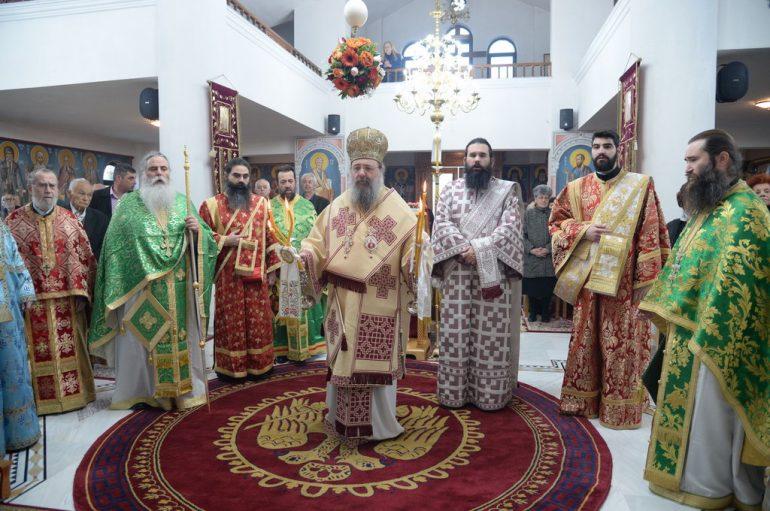 Η εορτή του Αγίου Αντωνίου στην Ι. Μητρόπολη Πατρών