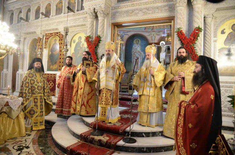 Λαμπρά εορτάσθηκε η Επέτειος Επανακομιδής του Σταυρού του Αγίου Ανδρέα στην Πάτρα