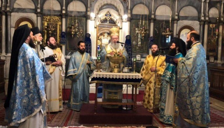 Αγρυπνία παραμονή των Θεοφανείων στην Ι. Μ. Χαλκίδος