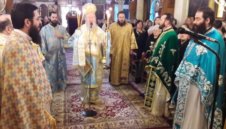 Λαμπρά εορτάσθηκε ο Τίμιος Πρόδρομος στην Χαλκίδα