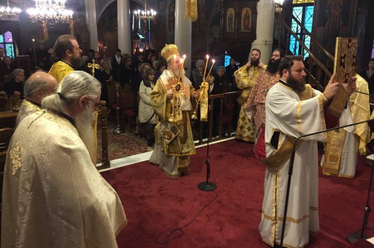 Η εορτή του Αγίου Μάρκου του Κωφού στην Ι. Μ. Χαλκίδος