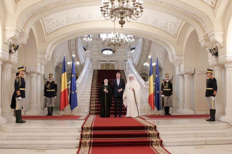 Συγχαρητήριο Μήνυμα του Οικ. Πατριάρχη σε Πατριάρχη και Πρόεδρο Ρουμανίας