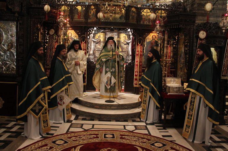 Η μνήμη του Αγίου Σεραφείμ του Σάρωφ στο Τρίκορφο Φωκίδος