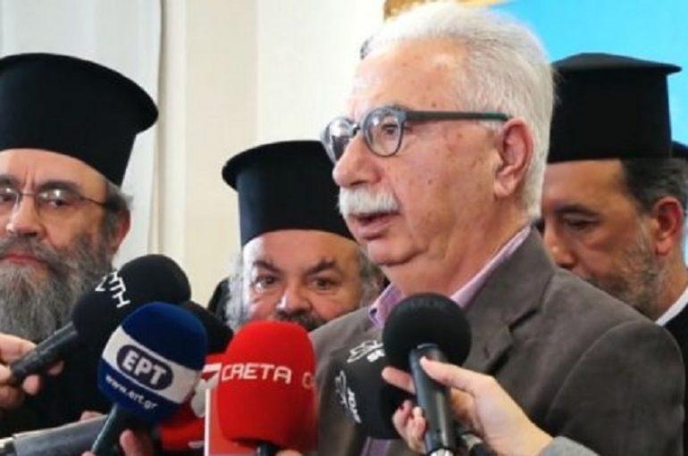 """Ένωση Κληρικών Κρήτης προς Γαβρόγλου: """"Μας αντιμετωπίζετε σαν πολίτες Β΄Κατηγορίας"""""""