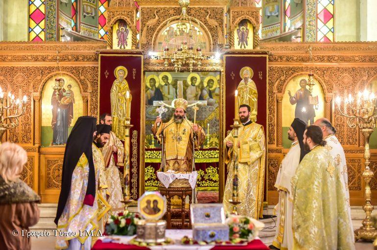 Η εορτή Κοιμήσεως του Αγίου Κυρίλλου στην Θεσσαλονίκη
