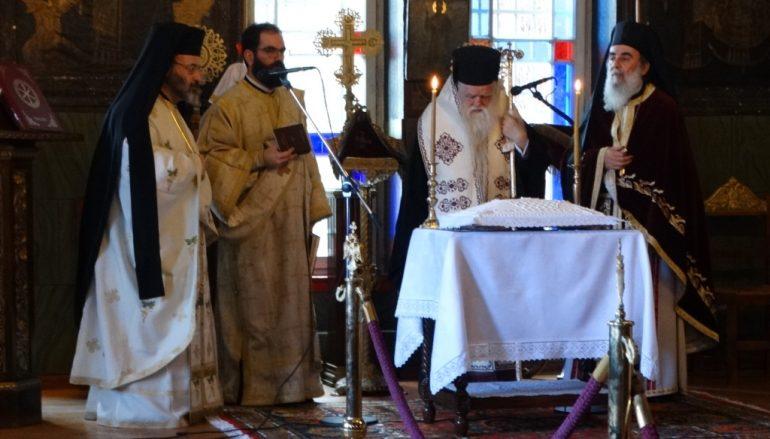 Αρχιερατικό Μνημόσυνο στο Ιερό Προσκύνημα Παναγίας Τρυπητής