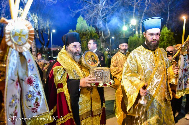 Υποδοχή της Τιμίας Κάρας του Αγίου Κυπριανού στη Θεσσαλονίκη