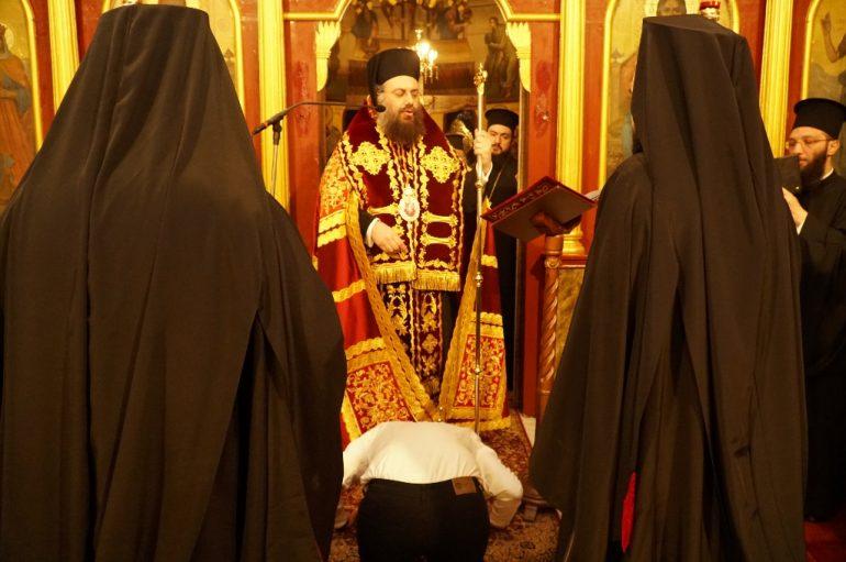 Κουρά Μοναχού στην Ι. Μητρόπολη Τρίκκης