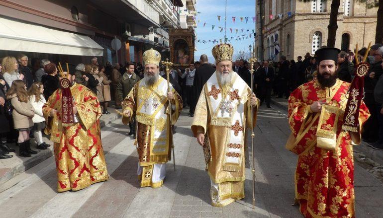 Το Ξυλόκαστρο εόρτασε τον Πολιούχο του Άγιο Βλάσιο