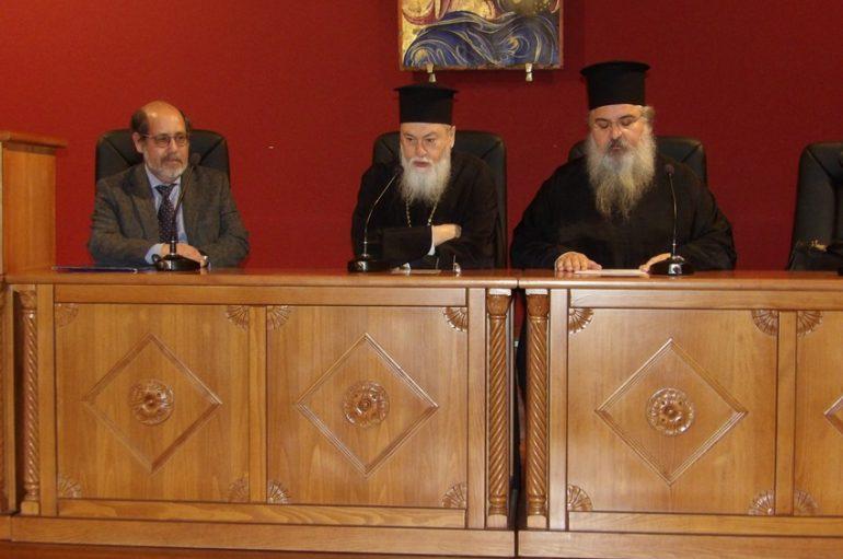 Ο Καθηγητής Θεολογίας Γ. Φίλιας ομιλητής στην Κόρινθο