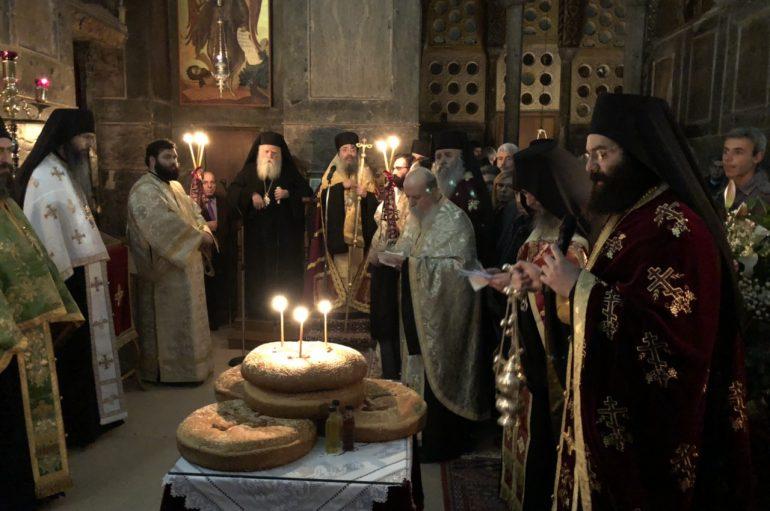 Η εορτή του Οσίου Λουκά στην Ι. Μητρόπολη Θηβών