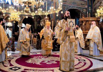 Ο Μητροπολίτης Καισαριανής Δανιήλ στην Έδεσσα
