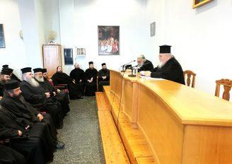 Ο Μητροπολίτης Καισαριανής σε Ιερατική Σύναξη της Ι. Μ. Εδέσσης