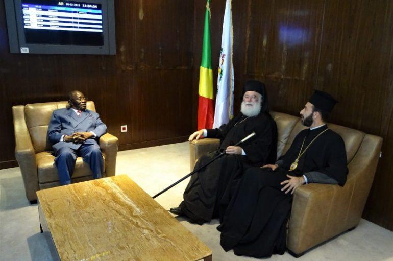 Περάτωση της επίσκεψης του Πατριάρχη Αλεξανδρείας στην Ι. Μ. Μπραζαβίλ