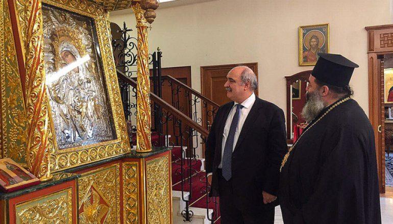 Επίσκεψη του Υφυπουργού Εξωτερικών στην Ι. Μ. Λαγκαδά