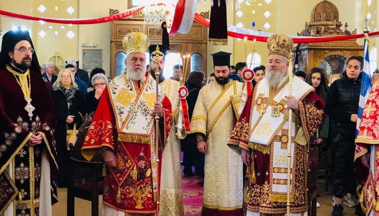 Αρχιερατικό Συλλείτουργο για τον Άγιο Γεώργιο τον Διβόλη