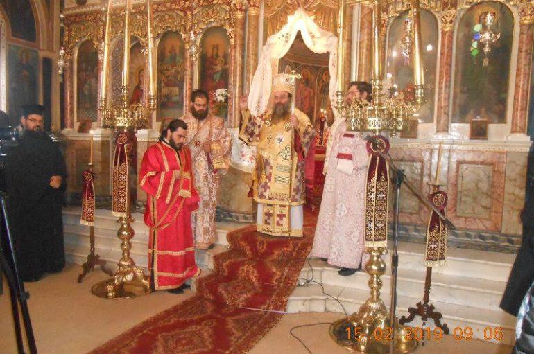 Η εορτή του Αγίου Ανθίμου στην Ι. Μητρόπολη Χίου