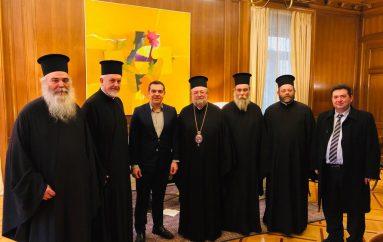 Η Αντιπροσωπεία του Οικ. Πατριαρχείου στον Αλ. Τσίπρα